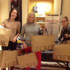 Ellen at the J.Crew Beachwood Ohio fundraiser.  Funny how she was quick to volunteer heading up this event.